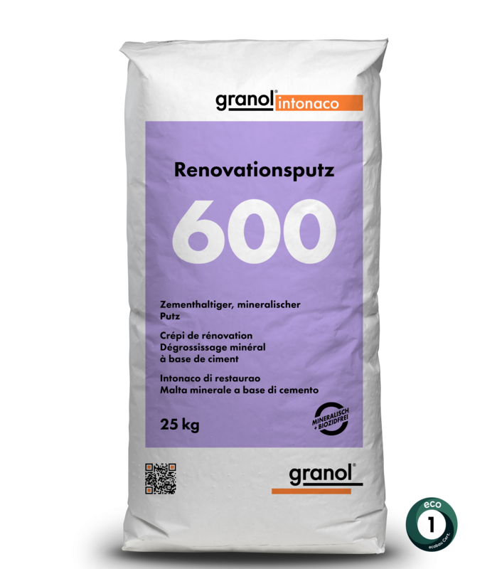 Renovationsputz 600